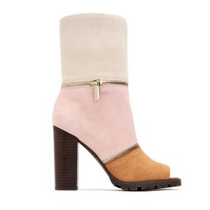 KATY PERRY   Almond The Evelyn Suede Bootie